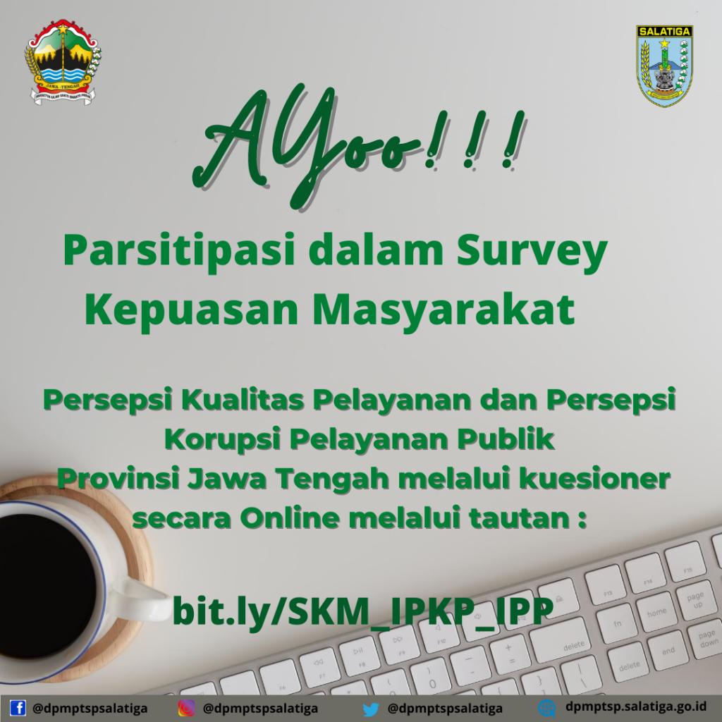 Questioner Survey Kepuasan Masyarakat