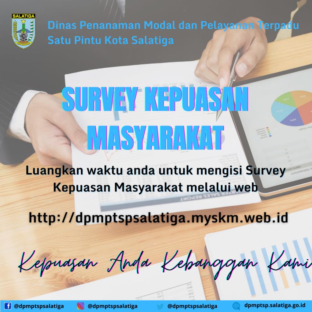 Survey Kepuasan Masyarakat (SKM) 2020