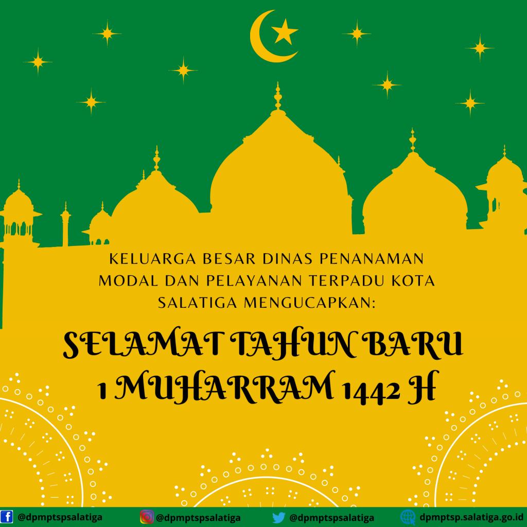 Selamat Tahun Baru 1 Muharram 1442  H