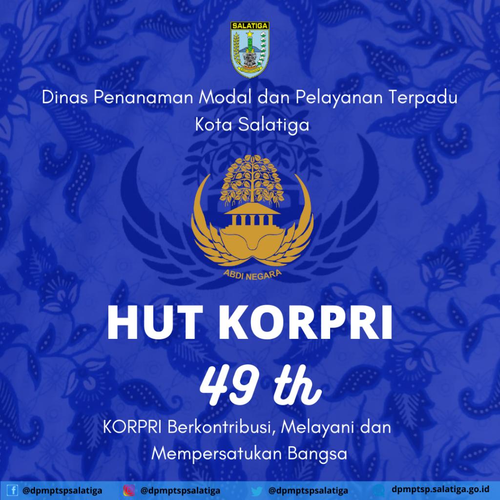 HUT KORPRI 49TH