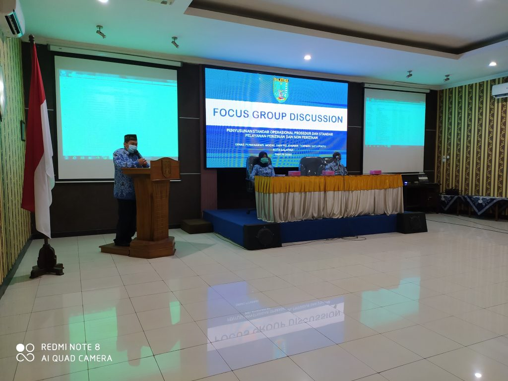 Forum Group Discussion (FGD) SPP & SOP Perizinan